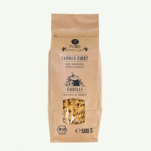 Italienische Bio Fusilli aus Bronzformen (Trafilata Al Bronzo) Bio Fairtrade Vegan direct