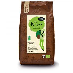 Café Mexiko, naturmild, gemahlen, bio, fair, Arabica