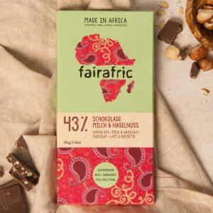 bio schokolade haselnuss fairafric